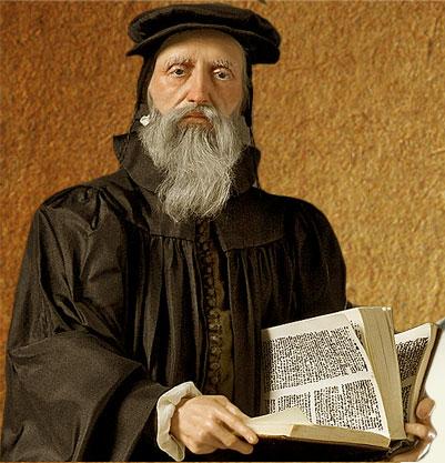 Знаменитый протестантский теолог и моралист Жан Кальвин (1509–1564...