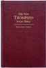 The New Thompson. Study Bible. King James Version