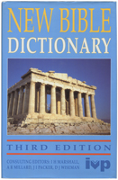 New Bible Dictionary. Third edition